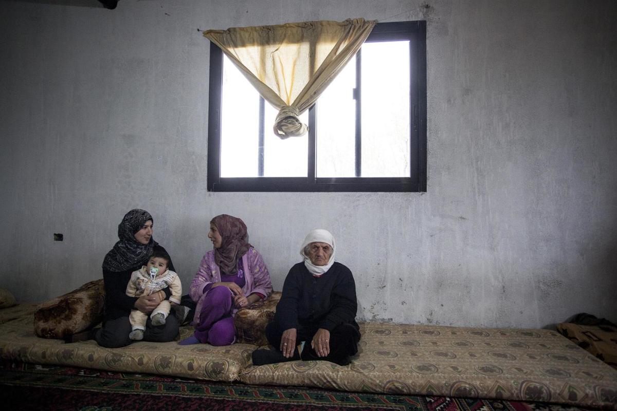 PCPM od 2012 roku dopłaca syryjskim uchodźcom do czynszu za wynajmowane mieszkania w Libanie. Fot. A. Rostkowski