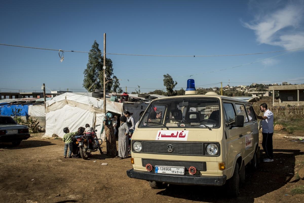Fundacja PCPM (Polskie Centrum Pomocy Miedzynarodowej) prowadzi w Libanie, na granicy z Syria, najwiekszy program pomocy humanitarnej realizowany przez polska organizacje pozarzadowa. Fot. Krystian Bielatowicz / minidoc.pl / PCPM