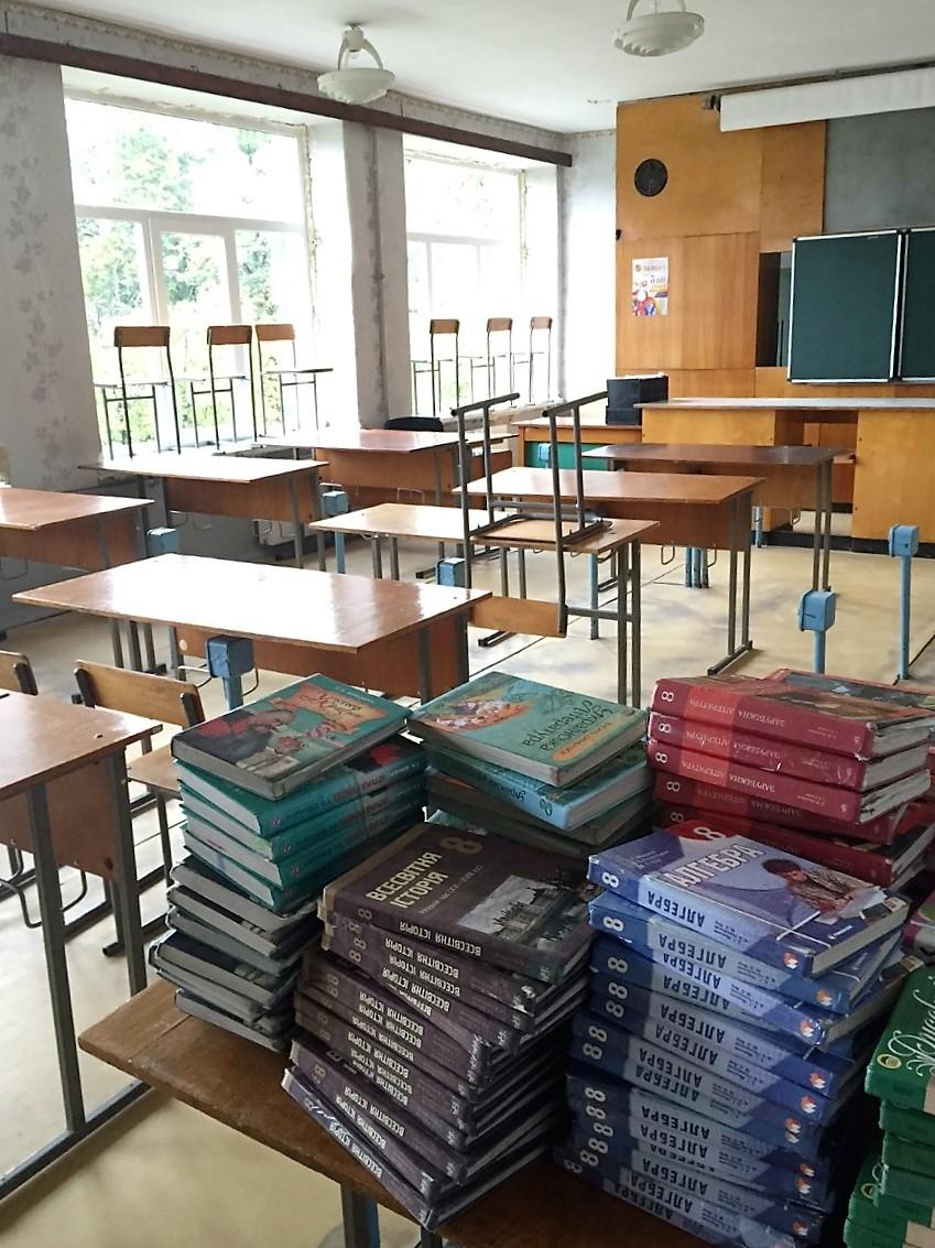 Studenok - sala do nauki fizyki z nowymi oknami