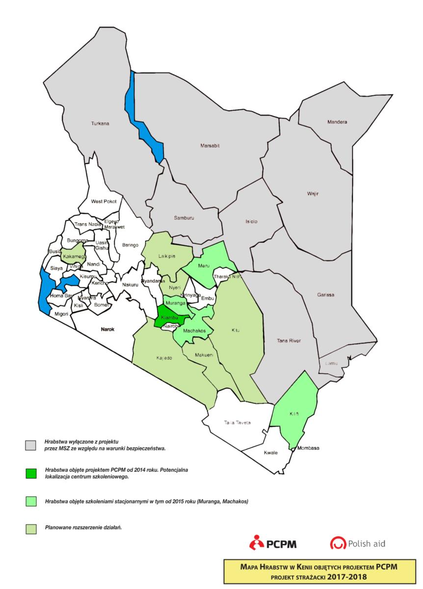 Kenijska strona połączenia