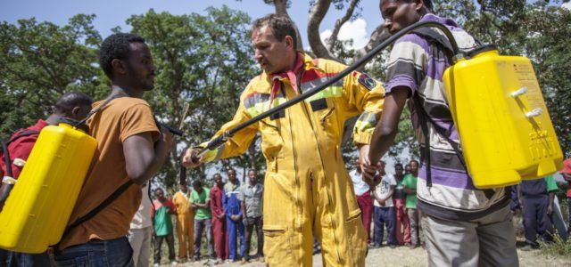 kenia etiopia strażacy