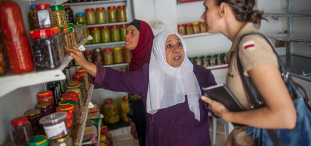 Praca w Palestynie, arch. PCPM
